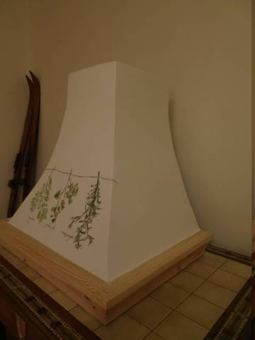 Okapy Recznie Malowane Pracowania Stylowych Okapow Kuchennych